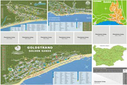 Back – maps of Albena resort, Golden Sands resort, Ss. Constantine and Helena resort