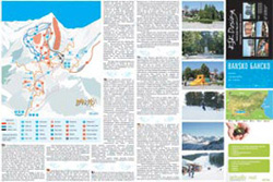 Front - ski runs and information about the town of Bansko