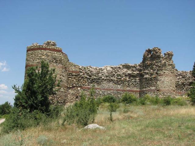Крепость около с.Мезек