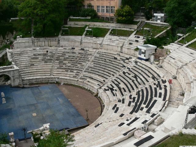 Античный театр – Пловдив